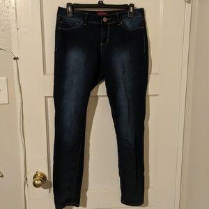 YMI Size 11 Stretchy Skinny Jeans
